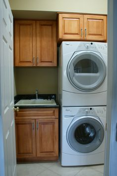 A great idea for your laundry room. Designed & installed by Royal Palm closet design and fine cabinetry. 239-768-2391