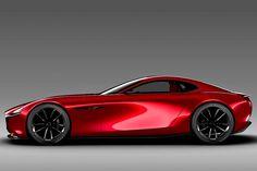 Mazda zeigt die Studie RX-Vision – natürlich mit Wankelmotor. Wird das der neue Mazda RX-9? AUTO BILD macht die Sitzprobe!