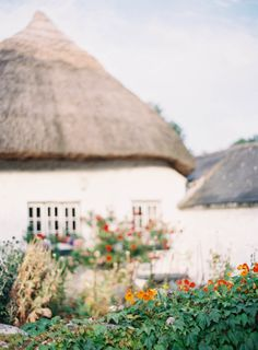 thatched roof homes   ireland   adare   jenhuangphoto