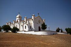 Photo Luís Reininho Igreja da mina de S. Domingos, Mértola, Alentejo - PORTUGAL. www.casanaaldeia.com