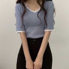 Korean Outfits, Mode Outfits, Girly Outfits, Cute Casual Outfits, Fashion Outfits, Brunch Outfit, Korean Girl Fashion, Asian Fashion, Casual Street Style