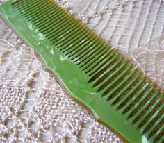 Vintage Celluloid Comb Vanity Dresser Replacement Comb by cynthiasattic on Etsy