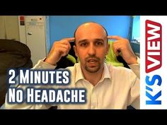 Use This Trick to End a Headache in Two Minutes