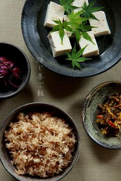Japanese Food / 焙じ茶ご飯