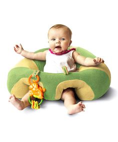 Blue Snugglebuns Support Seat | Daily deals for moms, babies and kids