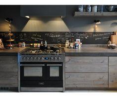 Schoolbordverf De Keuken : Moderne keukens eco keukens