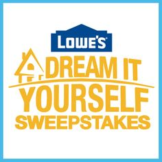 I just entered for a chance to win $100,000 in products and services from Lowe's. Watch American Dream Builders, Sundays at 8/7c on NBC.