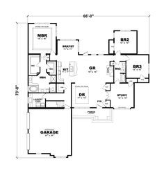 Centralia gr floorplan of generation collection modular for Continental homes of texas floor plans
