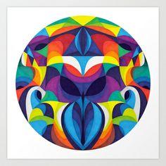 Lasa Art Print by Anai Greog - $16.00