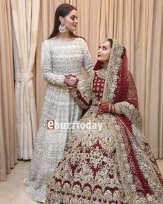 Awesome Photos of Aiman khan with her Parents and Siblings on her Wedding Day Shadi Dresses, Pakistani Dresses Casual, Pakistani Wedding Outfits, Pakistani Wedding Dresses, Bridal Outfits, Indian Dresses, Pakistani Clothing, Wedding Lehenga Designs, Desi Wedding Dresses