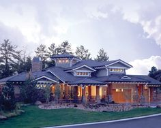 Craftsman House Plan with 5876 Square Feet and 5 Bedrooms from Dream Home Source | House Plan Code DHSW076603