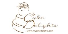 Queen of My Own Kingdom: cake logo design