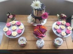 Cakes from sister firm Cinnamon Cake Company