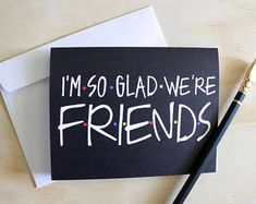Friends tv show Best Friend Birthday Cards, 40th Birthday Cards, Homemade Birthday Cards, Cute Birthday Gift, Diy Birthday, Funny Birthday, Birthday Wishes, Birthday Ideas, Friends Tv Quotes