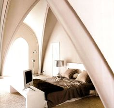Love the architecture in this room