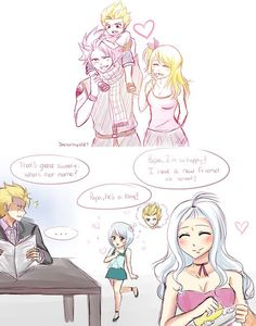 fairy tail laxus and mira - Google Search