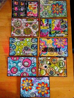 Week 2 ICAD's - did a couple of extras this week !! | Flickr - Photo Sharing!