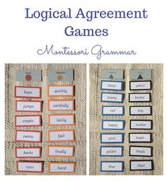 Grammar - Logical Agreement Games