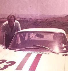 HRH Prince Vittorio Emanuele di Savoia goes for a spin around Interlagos with PIero Gancia in the Jolly Gancia Alfa Romeo GTA. Circa 1969.