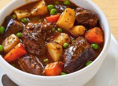 Semur is a type of meat  stew that is braised in  thick brown gravy  commonly found in  Indonesian cuisine. Soy  sauce is the most  important ingredient in the semur making process because it serves to  strengthen the flavor.