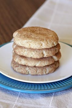 Gluten free vegan snickerdoodles. chewy cinnamon-sugary goodness!