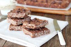 Nutella & Peanut Butter Bars [Gluten Free]