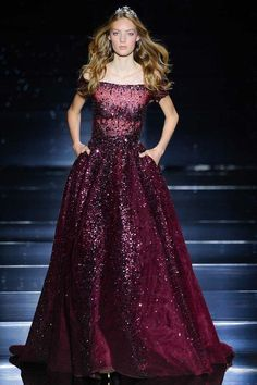 Fall 2015 couture gowns fit for princess and queens: Zuhair Murad