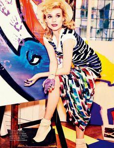 Diane Kruger Photographed by Ellen von Unwerth For Tatler Magazine, Russia April 2014 #dianekruger #ellenvonunwerth #tatler #2014