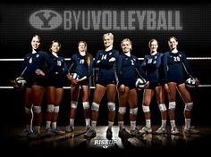 Womens Volleyball Poster