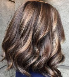 Caramel and chocolate toned brunette. Delish! Color by Amy Ziegler. Filed under: Hair Color, Hair Styles, Hair Stylists Tagged: balayage, beauty, brunette, hair, hairstyles, highlights, style, trends