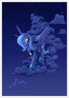 Luna Cloud Walker by mysticalpha.deviantart.com on @deviantART