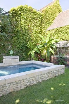 Small Backyard Pools, Small Pools, Swimming Pools Backyard, Swimming Pool Designs, Above Ground Pool, In Ground Pools, Saunas, Small Pool Design, Swiming Pool