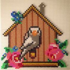 Bird hama perler beads by hamabra