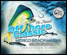 Mexico Beach Offshore Classic Fishing Tournament | Mexico Beach Marina, Mexico Beach Florida Mexico Beach Florida, Florida Beaches, King Mackerel, Fishing Magazines, Fishing Tournaments, Offshore Fishing, Saltwater Fishing, Deep Sea, Coast