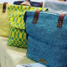 Sigo (bags & more) ( Big Bags, Custom Bags, Stand By Me, Handmade Accessories, Handmade Bags, Loom, Diaper Bag, Hand Weaving, Jeans