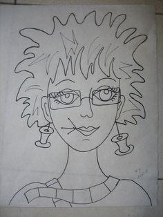 https://flic.kr/p/ajXaxT | Annie - the drawing