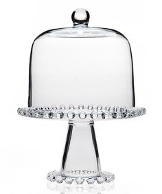 Love this Chesterfield Cake Stand & Dome by Godinger on #zulily! #zulilyfinds