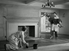 wet varnish from Mr. Blandings builds his Dream House Starring Cary Grant and Myrna Loy