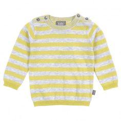 KIDSCASE  Baby striped Sweater - Yellow
