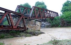 CRÓNICA FERROVIARIA: Salta: Para el mes de Marzo de 2016 estaría reparado el puente ferroviario sobre el Río Arias