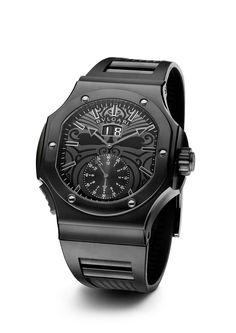 Bulgari Daniel Roth Endurer-All Blacks Special Edition-56mm black Steel Watch with DLC case 101906