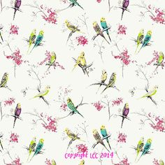 Chirpy Multi - Little Childrens Curtain Company
