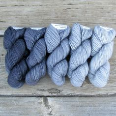 Carina - Gradient Set | Miss Babs Hand-Dyed Yarns & Fibers, Inc.
