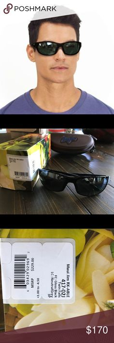 Maui Jim Men's Rectangular Twin Falls Sunglasses Make an offer!! Brand new with box and case!  Maui Jim Twin Falls offers a lightweight, versatile, grilamid frame perfect for everyday use. Its polarized lenses provide crisp optics that are scratch and impact resistant. The modified rectangle shape compliments round, oval and heart-shaped faces. Maui Jim Accessories Sunglasses