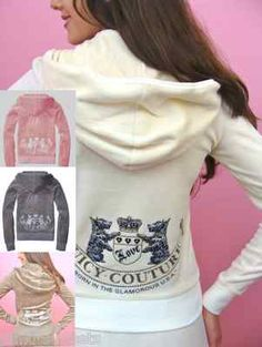 3110d4d5471a8 Juicy Couture Tracksuit Old School Hoodie and Pants LOVE them lt 3 Juicy  Couture Tracksuit
