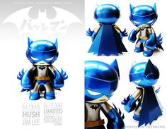 Batman Hush Celsius by Rotobox Vinyl Anatomica