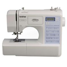 Brother Sewing Computerized Sewing Machine 50 CS5055PRW https://foxgatemarketing.com/product/brother-sewing-computerized-sewing-machine-50-cs5055prw/ Brother CS-5055PRW Computerized Sewing Machine Project Runway - 50 built-in utility decorative and heirloom stitches each with multiple stitch functions. Sew fleece elastic and other stretchy fabrics with the built-in stretch stitches. One-step bobbin replacement with quick set drop-in bobbin. Embellish or join quilt blocks with