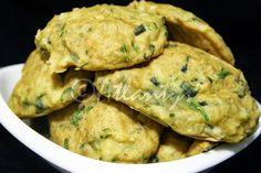 "Terapia do Tacho: Pataniscas de bacalhau no forno (Baked salted codfish ""fritters"")"
