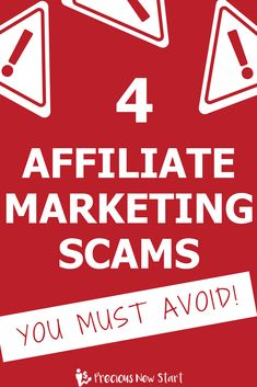 Affiliate marketing scams you must avoid pin