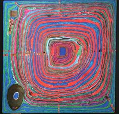 224 The Big Way Artist: Friedensreich Hundertwasser Completion Date: 1955 Style: Transautomatism Genre: abstract painting Material: mixed me...